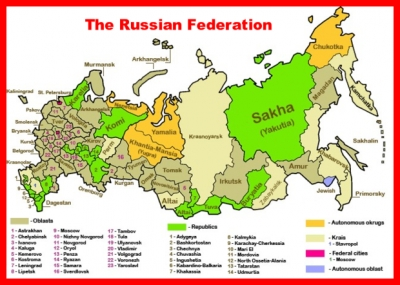 The Russian Federation Has 68