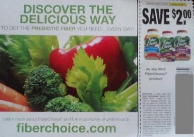 Fiber Choice coupon, free sample