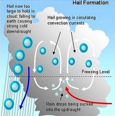 hail hits roof diagram diagram hail damage #2