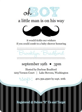 Orange And Blue Car Baby Shower Invite. These Baby Shower Invites Have A  Classic Feel With The Blue Stripes And The Car Icon. The Orange And Blue  Are So ...