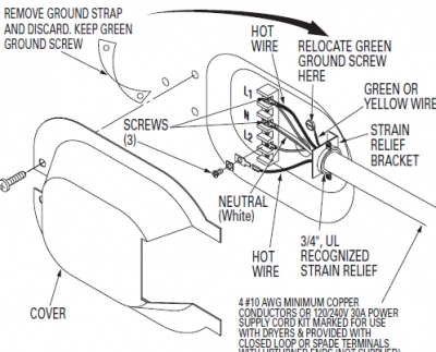 4 prong dryer plug ul wiring diagram