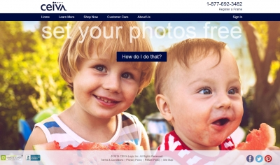 ceiva focuses on frames that take streaming photos from their cloud all you have to do is setup the email address for your frame and then you can send