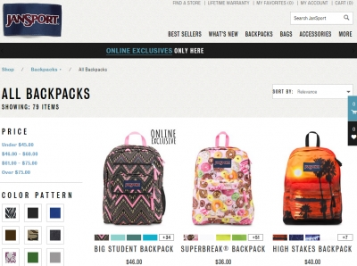 Jansport vs High Sierra vs Herschel Supply Co: Backpacks Compared