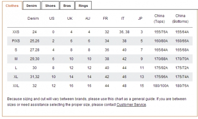 Shoe Sizes Pull And Bear
