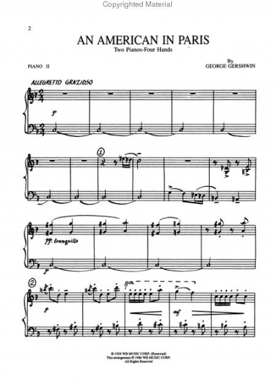theme analysis of an american in paris a symphonic poem by george gershwin 2017 concert band catalogue,  ii / an american in paris / rhapsody in blue by george gershwin / arr  american concerto for symphonic band and jazz.
