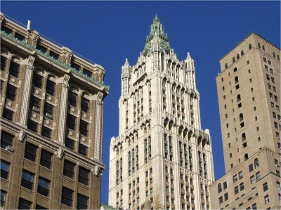 The Woolworth Building 1910 Is An Early Skyscraper Designed By Cass Gilbert In Gothic Style This Nicknamed Cathedral Of Commerce