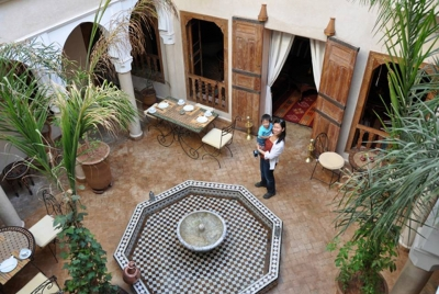Moroccan Courtyard House Plans House And Home Design