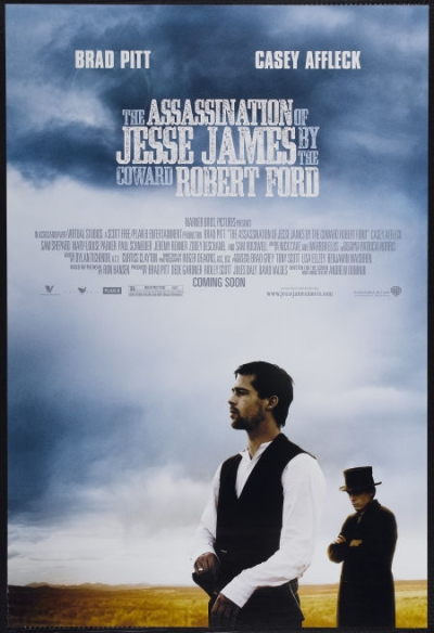 Advance one sheet movie poster: The Assassination of Jesse James by