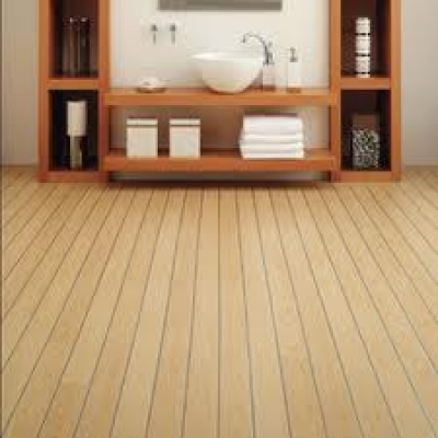 Bathroom bamboo flooring wooden floor wood floor in for Bamboo bathroom flooring ideas