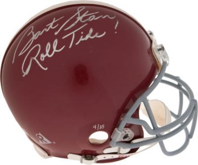 Bart Starr Autographed Football Bart Starr Autographed Alabama