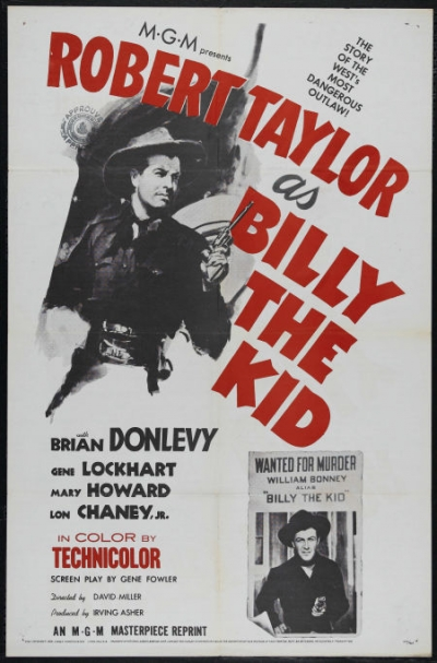 billy the kid movie. On DVD: Billy the Kid (MGM,