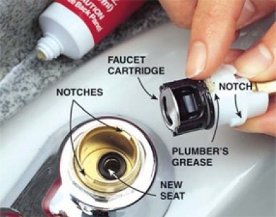 How To Fix A Leaking Cartridge Type Faucet