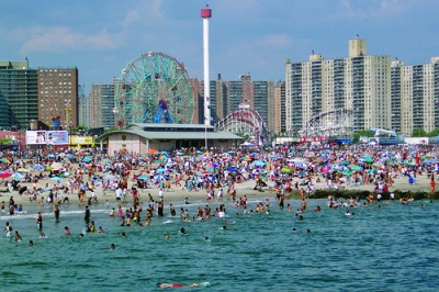 Coney Island Beach And Boardwalk 10 6 Million Most Visited Parks In New York City