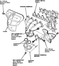 Relay Wiring Diagram For And Condition besides P 0996b43f8037e5ca moreover P 0996b43f8037fa5c besides How To Replace The Exhaust Manifold On All 1996 2000 Honda Civic Lx Del Sol 16l 4 Cyl Engines moreover T7134591 Find starter. on toyota camry manifold