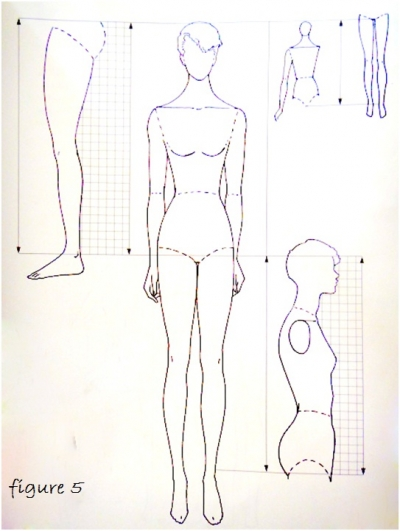 Basic fashion drawing for beginners 8
