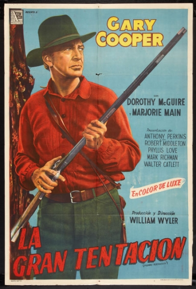 ten valuable friendly persuasion 1956 movie posters