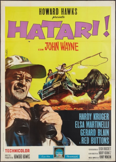 ten valuable hatari 1962 movie posters amp collectibles
