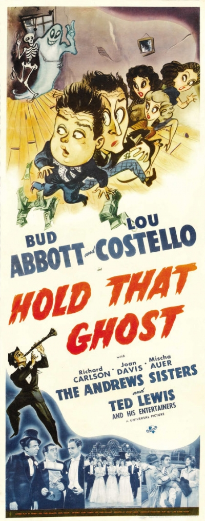 Abbott And Costello - Hold That Ghost (1941)