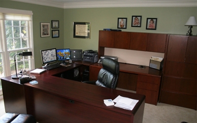 Designing an efficient home office - Office space for small business ideas ...