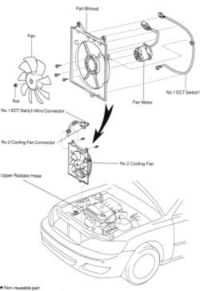 2000 Camry Radiator Fan Diagram