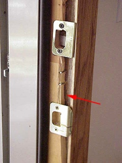 How To Repair A Broken Door Jamb