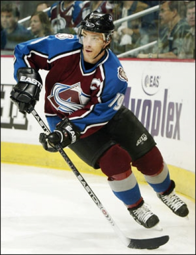joe sakic colorado avalanche