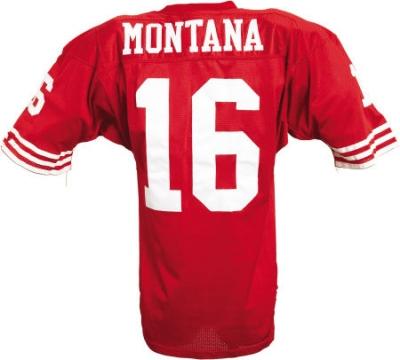 e37659f1 Joe Montana Circa 1990 Game-Worn San Francisco 49ers Jersey