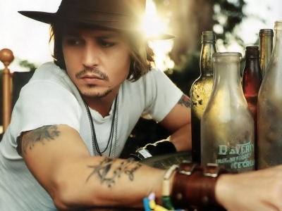 johnny depp chest tattoos. Most of Depp#39;s tattoos are a