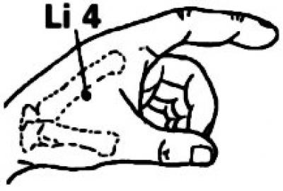 One Point Healing - Acupressure Point Li 4