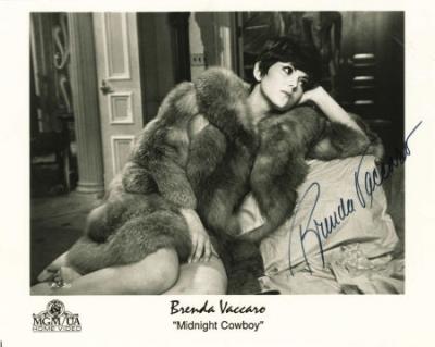 Brenda Vaccaro signed Midnight Cowboy still $25-40