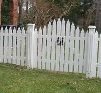 how to put a gate in a wood fence