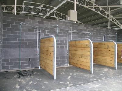 horse wash bays