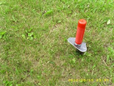 metal detecting digging tool