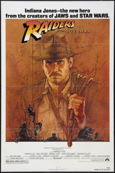 Ten valuable raiders of the lost ark 1981 movie posters
