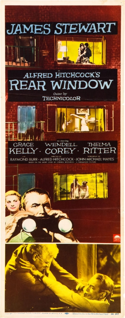 Ten valuable rear window 1954 movie posters collectibles for 1954 rear window