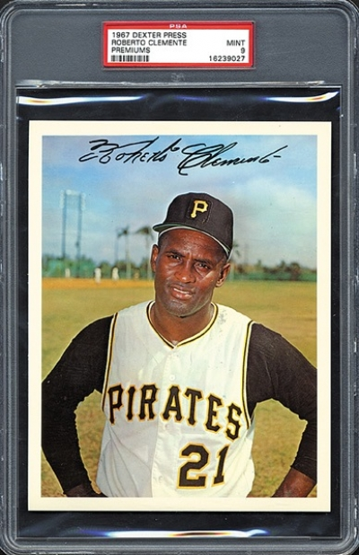 Ten Valuable Roberto Clemente Baseball Collectibles