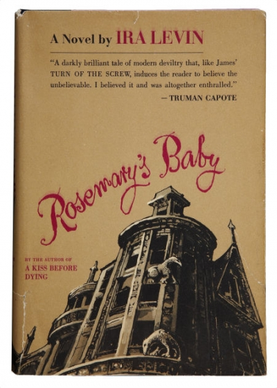 Cover of the 1967 first edition of Rosemary's Baby