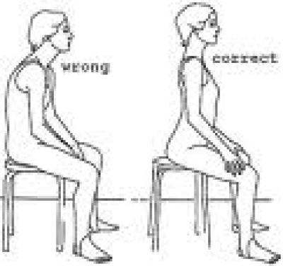Sitting Up Straight