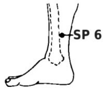 One Point Healing - Acupressure Point Sp 6