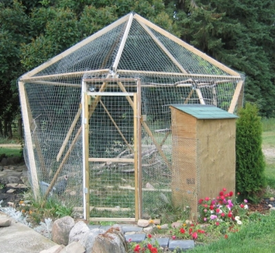 starplate bird aviary cat enclosure