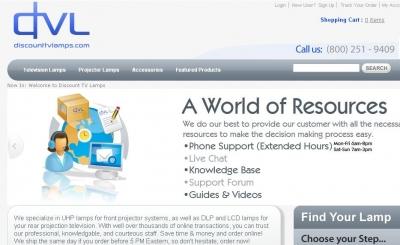 Discount TV Lamps: Product Images U0026 Screenshots