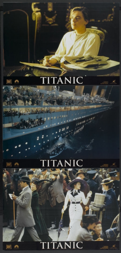 Titanic movie poster 24x36