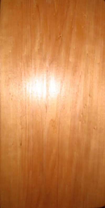 A clean wooden board begins the project