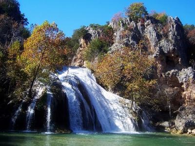 Turner Falls Beautiful Popular Landmark Scenic Waterfall