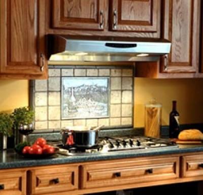 kitchen range hoods and exhaust fans
