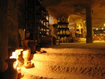 underground cave home. Today  people in the villages use some of cellars underground cities as storage rooms and shelter for their animals Every home aboveground had The Ancient Underground Cave Cities Turkey