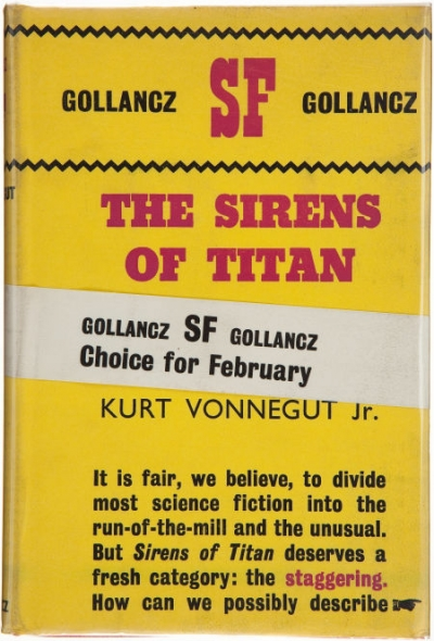 an analysis of kurt vonneguts second novel the sirens of titan [8f3242] - sirens titan novel kurt vonnegut the sirens of titan kurt vonnegut jay snyder on amazoncom free shipping on  published in 1959his second novel it involves issues of free will omniscience and the overall purpose of human history kurt vonnegut kurt  wife edith sophia kurt vonneguts short stories questions and answers the.