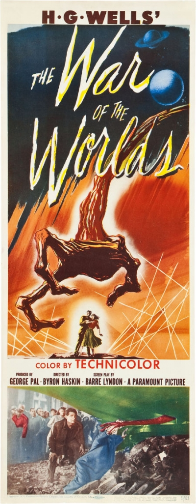 1953 war of the worlds movie. The War of the Worlds 1953