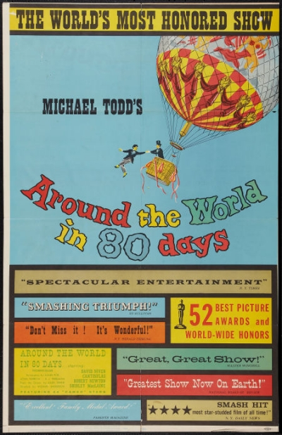 Around The World In 80 Days One Sheet Poster 38