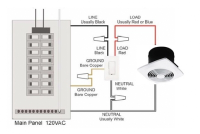 How to install a bathroom fan timer switch wiring diagram for a timer switch asfbconference2016 Image collections